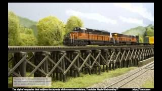 N Scale Mud Bay & Southern Railroad Model Train Layout Featured in TSMRR