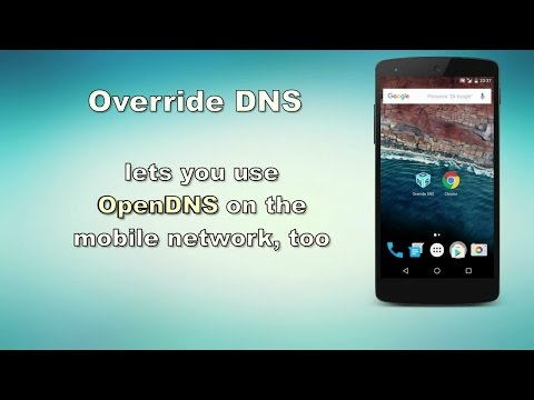 Override DNS (a DNS changer) - Apps on Google Play