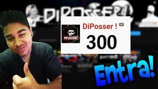 LLEGANDO A LOS 300 SUBS EN DIRECTO!!! (TU QUE ERES NUEVO ENTRA UN RATITO)//DiPosser!