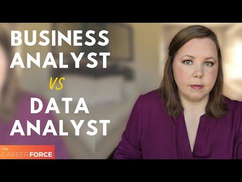 Business Analyst Vs Data Analyst