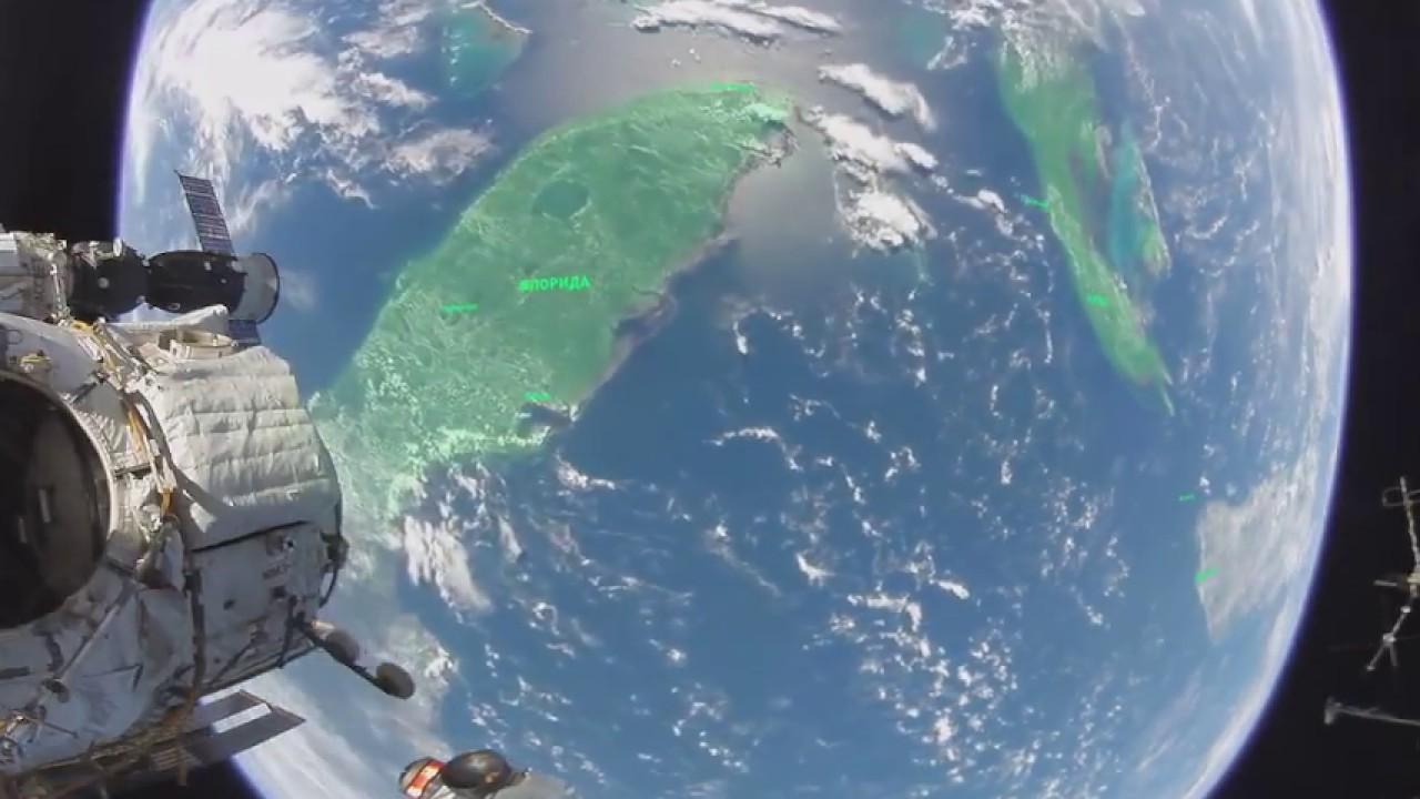 Видео 360°: выход в открытый космос
