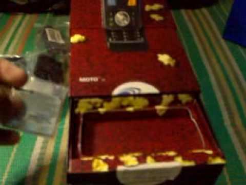 Motorola Z8 Unboxing