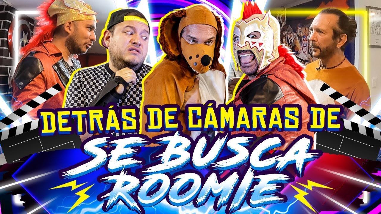 Así graba Oscar Burgos al Perro Guarumo y Alex Montiel al Escorpión Dorado