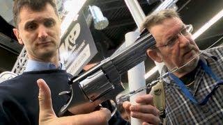 Messe für Waffen in Nürnberg - Faszination für klassische Gewehre ungebrochen