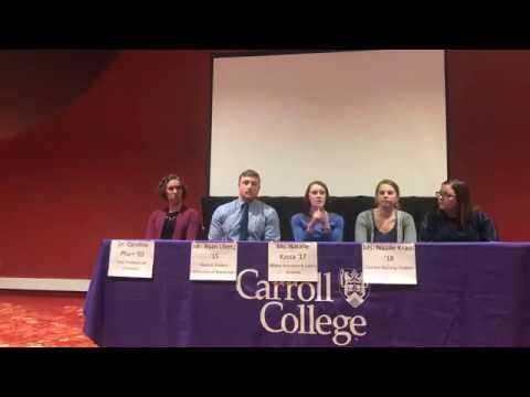 Student and Alumni Panel - Spokane 2018