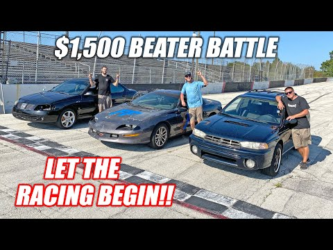 CHEAP CAR BATTLE!!!