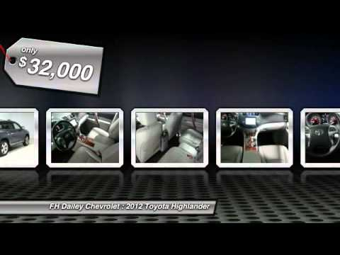 2012 Toyota Highlander FH Dailey Chevrolet - Bay Area - San Leandro CA 797