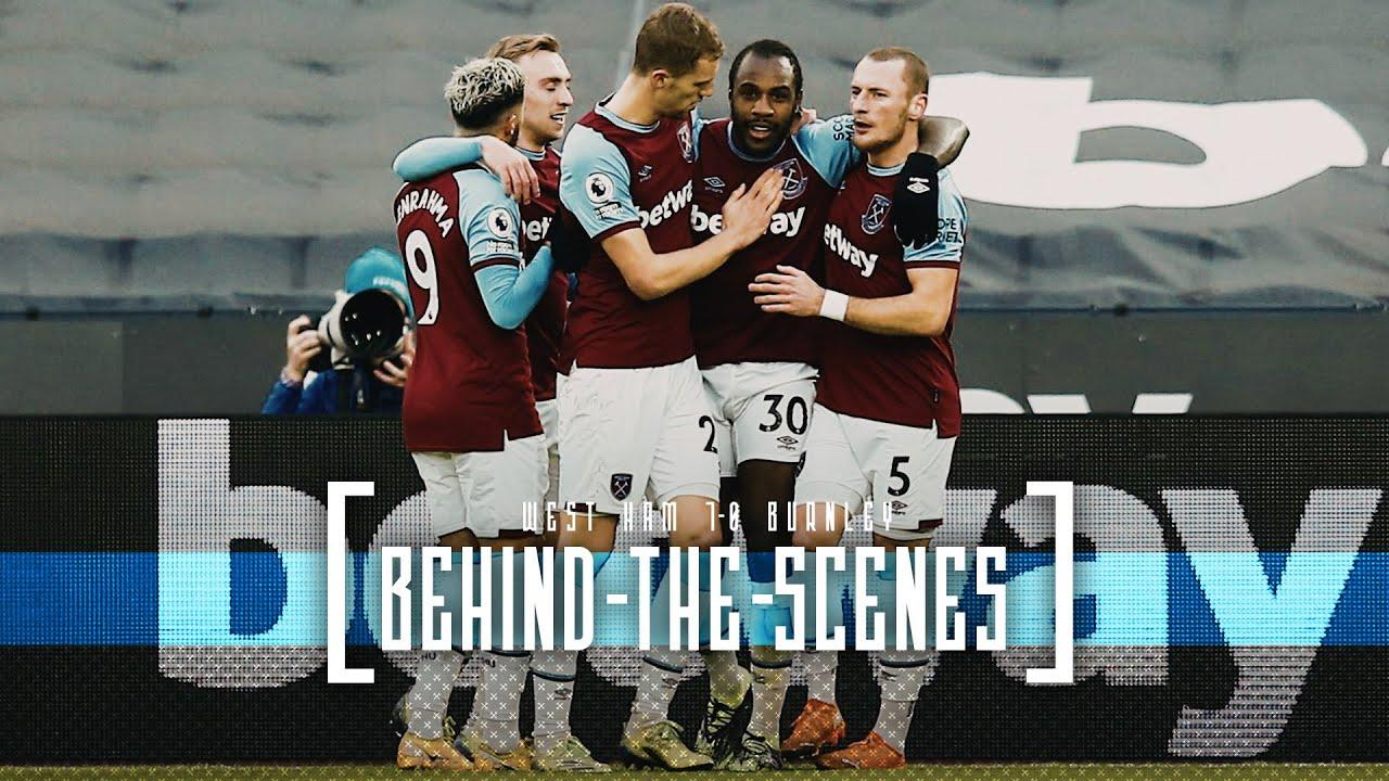 Download BEHIND THE SCENES   WEST HAM UNITED 1-0 BURNLEY