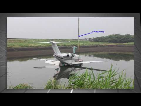 Emergency Lifting and Slinging the CJ Series Aircraft