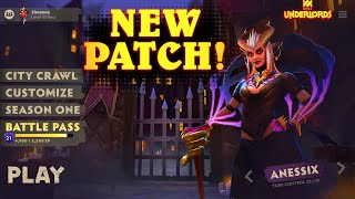 NEW Patch Thoughts | A Tiny Update & Then A Bigger Update! | Dota Underlords