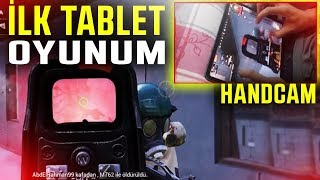 İLK DEFA TABLETTEN OYNADIM!   PUBG Mobile Gameplay Sanhok (One Man Squad)