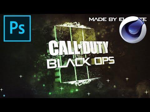 Black Ops 3 Speedart [Wallpaper, banner & twitch overlay ...  Black Ops 3 Spe...