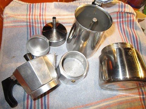 Como limpiar una cafetera de aluminio por dentro y por - Como limpiar aluminio ...
