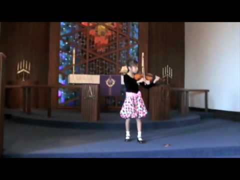 Annalise's West Portal Lutheran School Violin Recital