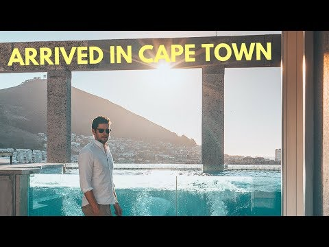 Best Hotel in Cape Town South Africa & Dinner at The Test Kitchen - Drought in Cape Town?