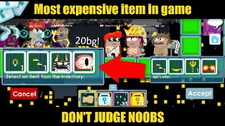 NOOB SHOWS MOST EXPENSIVE ITEM in game! Dont Judge Noobs 7 (Dr. _811 Edition) [Growtopia]