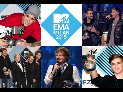 MTV EMA 2015 Nominees