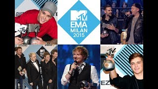 MTV EMA 2015 Nominees & Winners