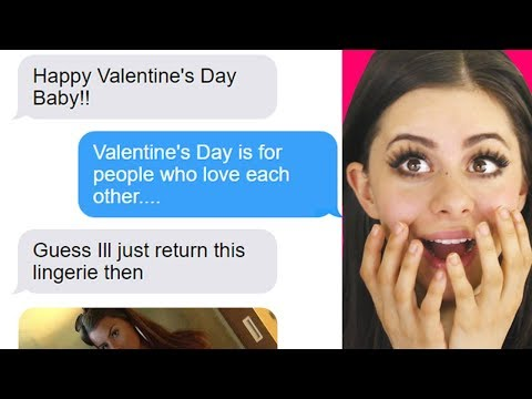 FUNNIEST BOYFRIEND - GIRLFRIEND TEXTS on valentines day!
