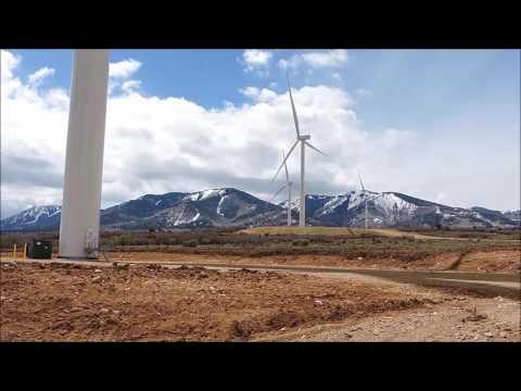 Monticello, UT Industrial Wind Farm.