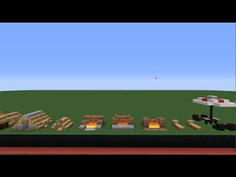 Minecraft Gua De Decoracin De Casas Modernas 5 Muebles De Jardn Construcciones Bsicas