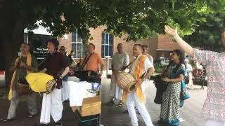 Brentwood Hare Krishna Kirtan with Arjuna