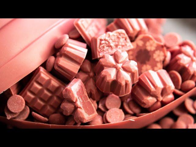 ??????????????????????? Ruby Chocolate RB1 Bonbon Chocolate Raspberry Ganache Cream