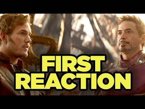 Avengers Infinity War FIRST REACTIONS!