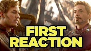 Avengers Infinity War FIRST REACTIONS!