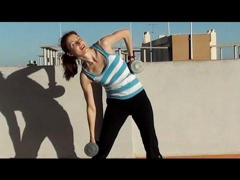 AFIRMAR Y ADELGAZAR LA CINTURA-Rutina de ejercicios para