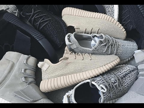 MY YEEZY BOOST COLLECTION. - YouTube 825b2043a0a0