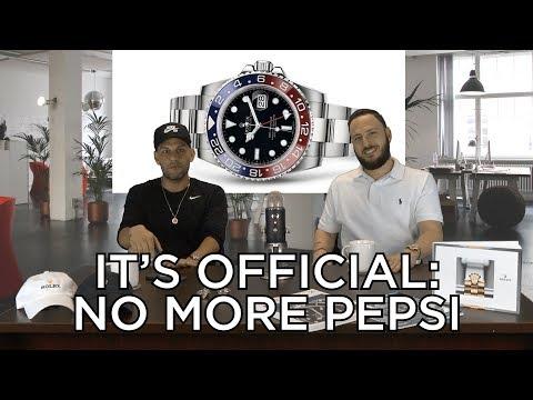 Talkin' Shop 4: Rolex Discontinuing the GMT Master II Pepsi!