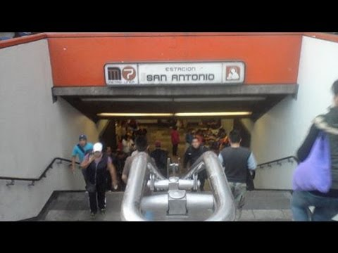 Woman's body found in Mexico metro station