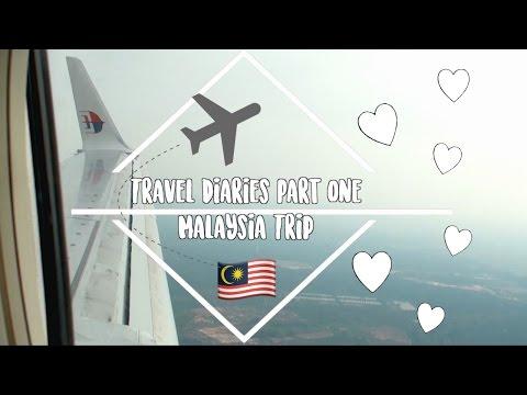 Vlog 2: Travel Diaries Part 1 Malaysia Trip