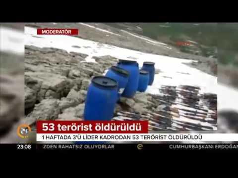 TSK terörle mücadelede haftalık bilançoyu açıkladı