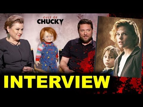 Cult of Chucky   Alex Vincent & Christine Elise