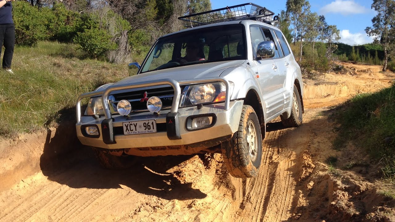 nm pajero exceed off road youtube