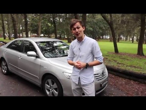 2008 Toyota Camry Altise Review