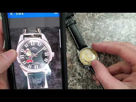 Fake Vintage Fortis Watch From Ebay.