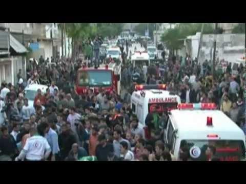ISRAELI Air Strike KILLS Hamas' Military LEADER ►►► LIVE VIDEO Footage REAL TIME ◄◄◄