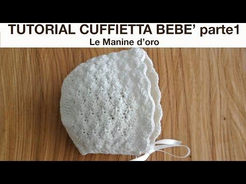 Cappello Punto Fiocchetti Alluncinetto Tutorial By Maria Luisa