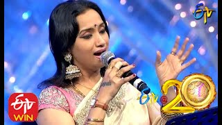 Kalpana and Hema Chandra Performs - Meriseti Song in ETV @ 20 Years Celebrations - 23rd August 2015