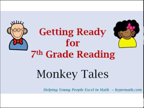 7th Grade Reading Review - Monkey Tales