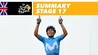 Summary - Stage 17 - Tour de France 2018