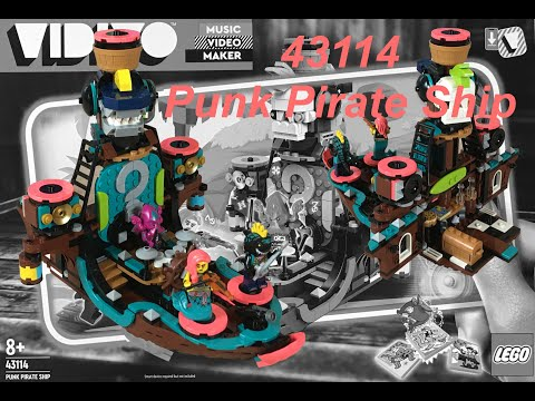 Lego Vidiyo 43114 Punk Pirate Ship - Speedbuild