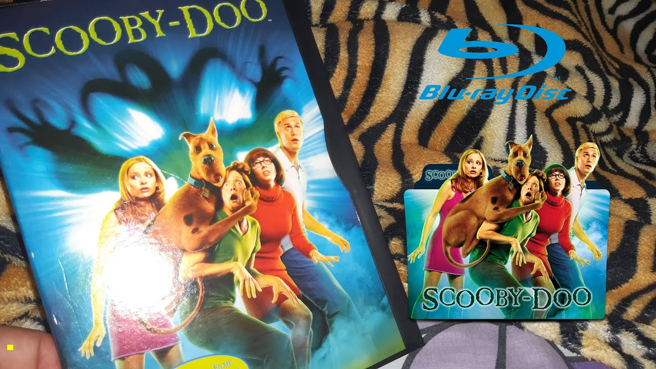 Dvd Scooby Doo 2002 Live Action Youtube