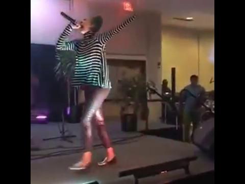 Briana 'Bri' Babineaux at Savannah State University Homecoming