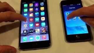 iPhone 6 Plus speed test vs iPhone 5
