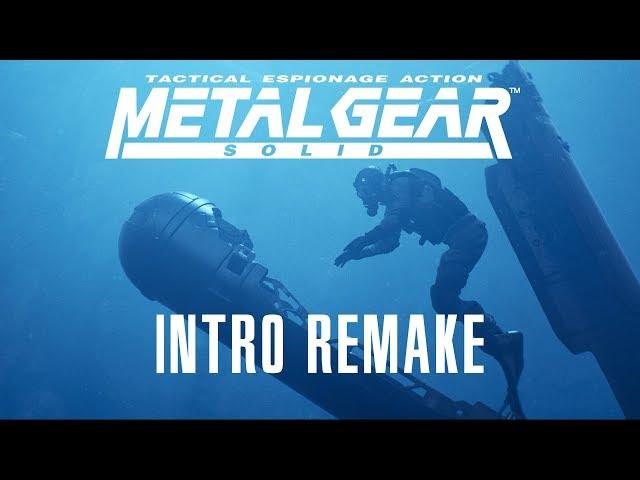 Watch an incredible UE4 recreation of Metal Gear Solid's