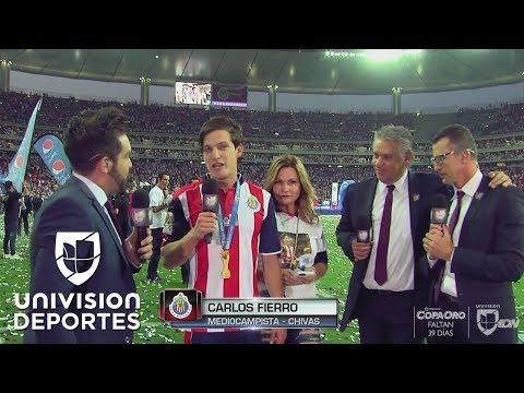 """Carlos Fierro: """"Por fin logramos lo que tanto soñamos"""""""